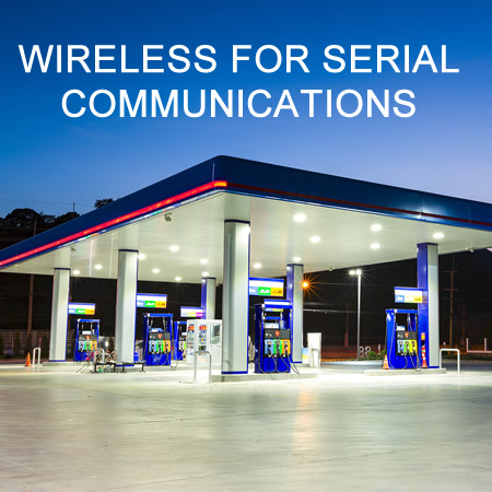 Wireless Serial to Ethernet Communication at the Pump