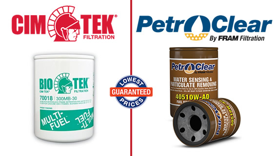 Best Prices on Dispenser Fuel Filters From CIM-TEK and PetroClear