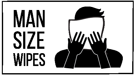 Man Size Wipes